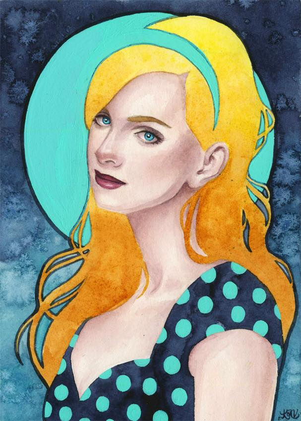 Betty - Created for Archie's Official Art Show at Gallery 1988 and inspired