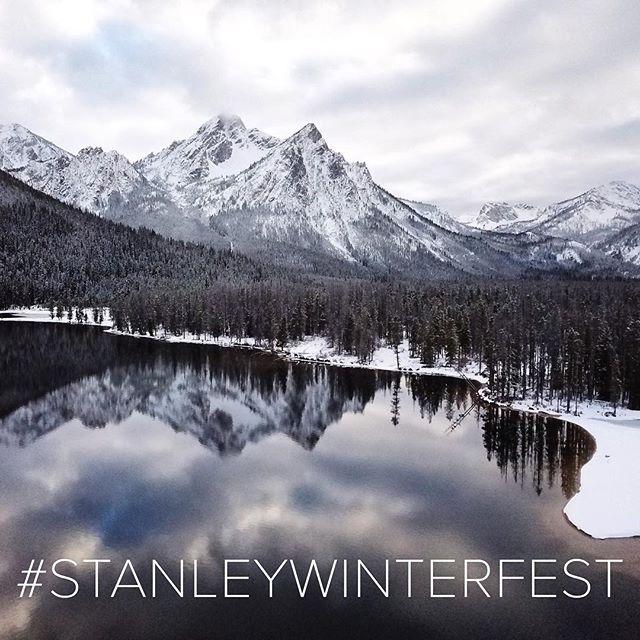 What do you look forward to most about Winterfest? Use #stanleywinterfest to share your favorite winterfest memories 📷 @austinclegg1 @redfishlakelodge . . . . . #stanleyidaho #sawtoothmountains #visitidaho #thisisidaho #optoutside #snowcoveredmountains #optoutside