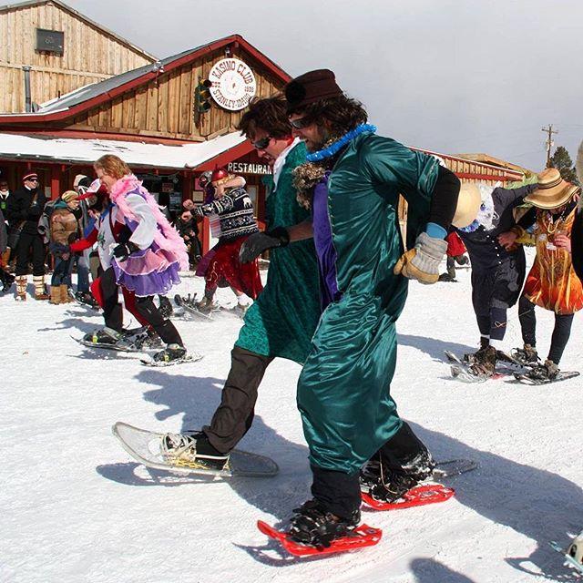 Get weird this winter in Stanley, Idaho! . . . . . #stanleywinterfest #stanleyidaho #visitidaho #winterwonderland #thisisidaho #idahogram #thisidaho #winterfest #tistheseason #idaholiving
