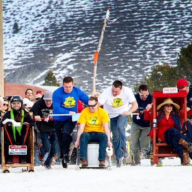 Have you ever been to an outhouse race? Brings a whole new meaning to running to the potty! Register for FREE and check out the rules on our website #outhouseraces #stanleywinterfest #thisidaho #thisisidaho #idahogram #idahome #idahodaily #visitidaho #stanleyidaho