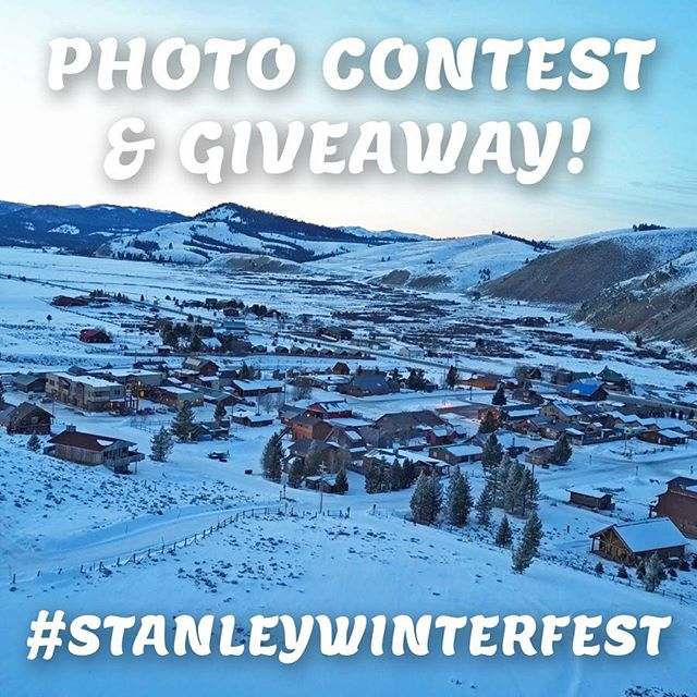 Share your winterfest favorites this year using #StanleyWinterfest for a chance to win some awesome prizes! To be entered just follow and tag your photos, it's that easy!  #photocontest #stanleyidaho #idaho