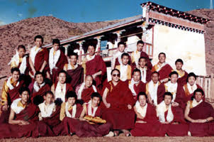 His Holiness Gangri Karma Rinpoche established the monastery in Tibet