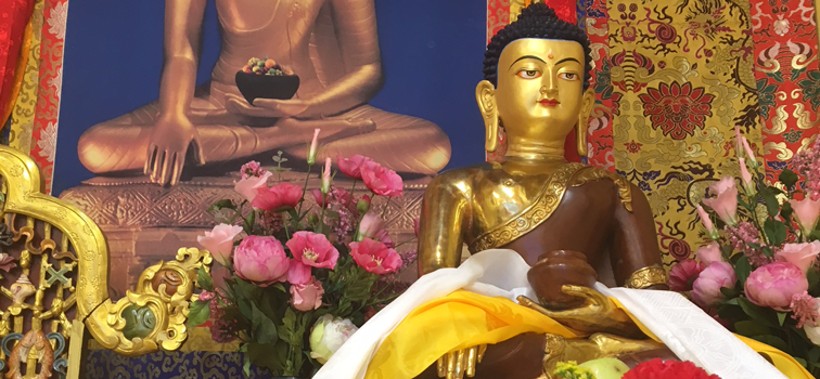 Buddha in the Martsang Kagyu London Buddhist Centre