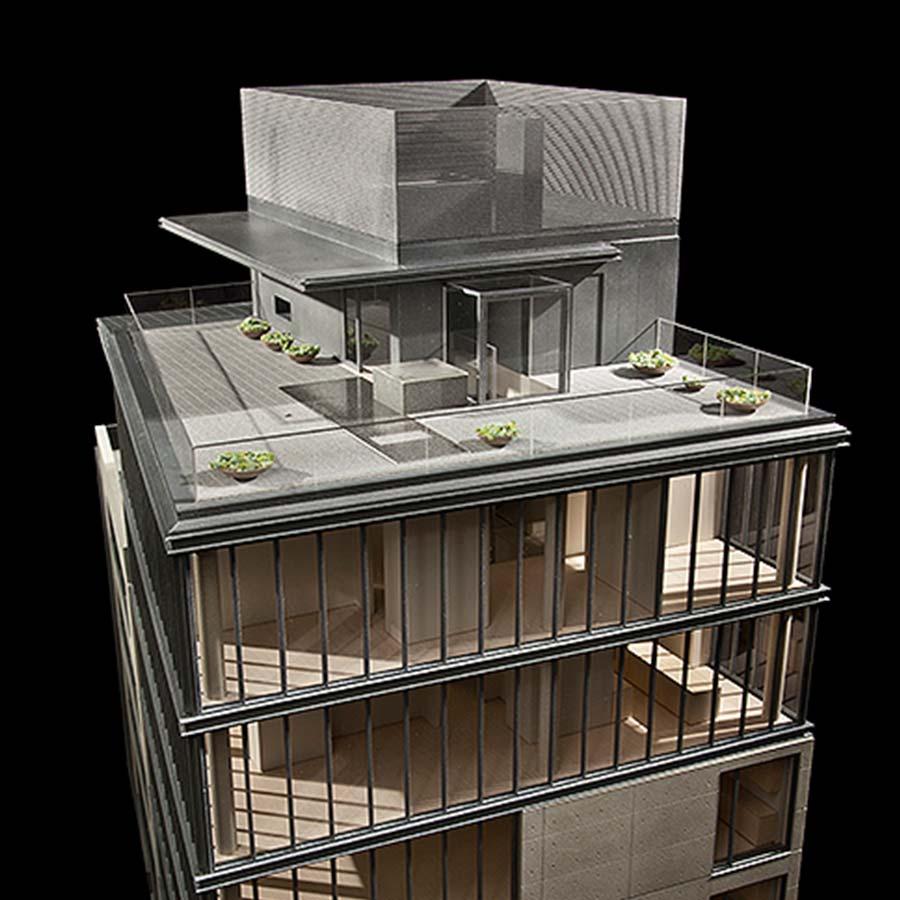 Tadao Ando + Gabellini Sheppard Associates  Elizabeth Street