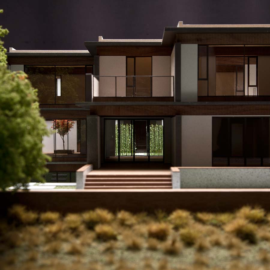 Tsao & McKown Architects  China Villa
