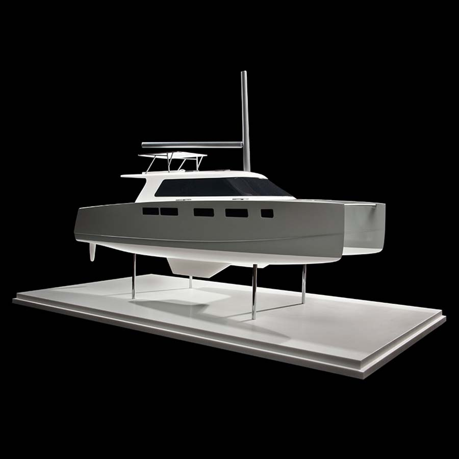 Indikon Boat Works  K4 Catamaran