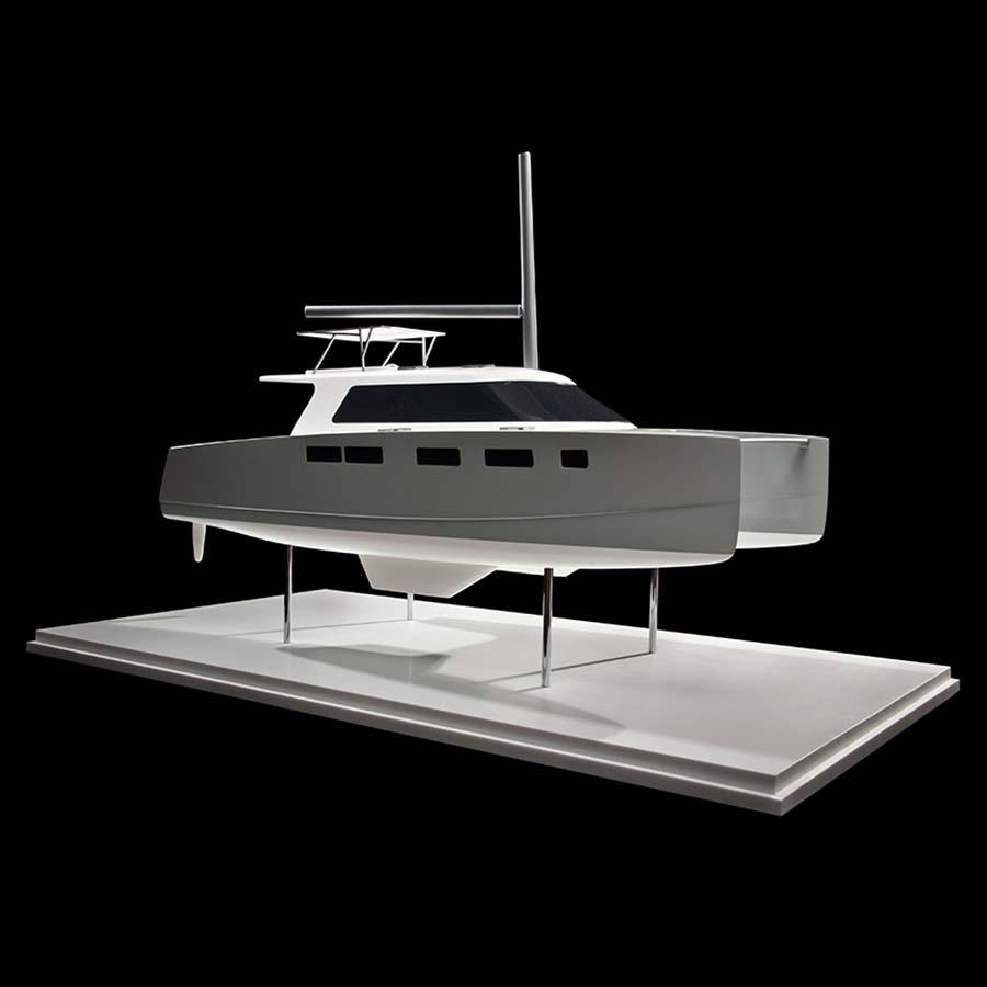 Indikon Boat Works  K4 Catamaran