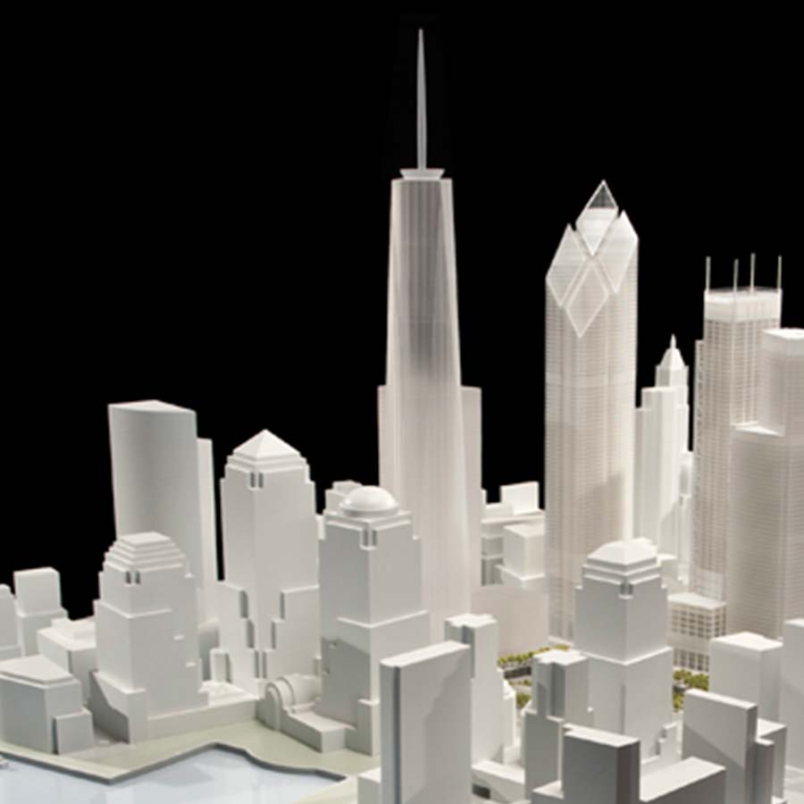 Silverstein Properties  World Trade Center Site Model