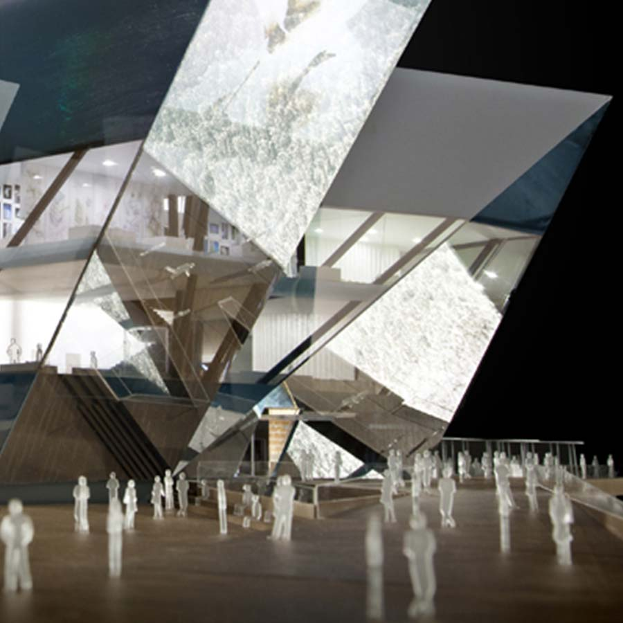 REX Architecture  V&A Museum of Design (Competition)