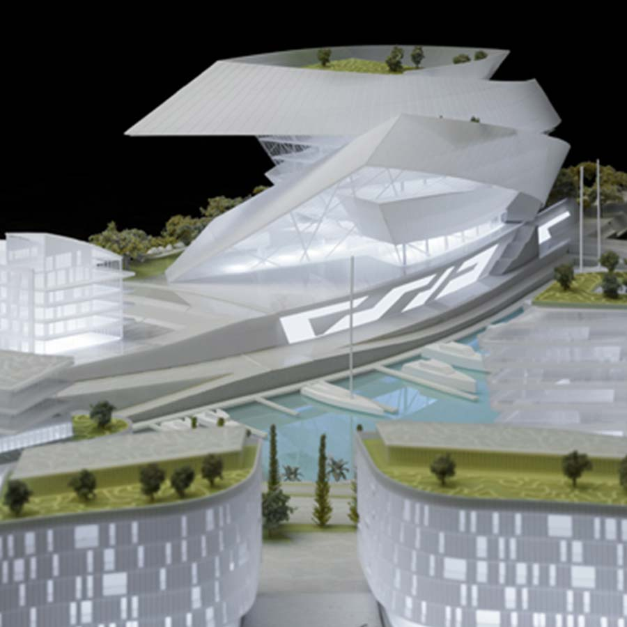 Studio Daniel Libeskind  Cape Grace (Competition)