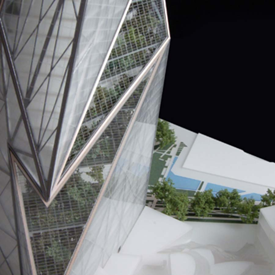 Studio Daniel Libeskind  Tour Signal La Defense Paris (Competition)