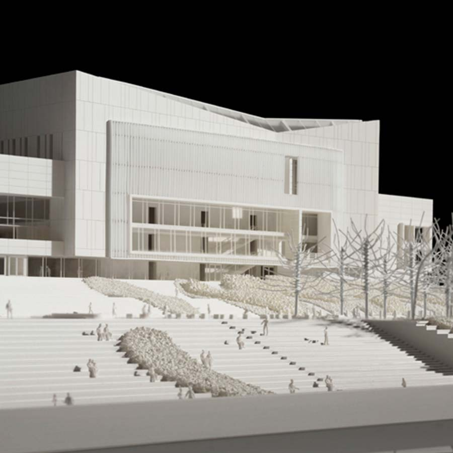 Richard Meier & Partners  Beethoven Festspielhaus (Competition)