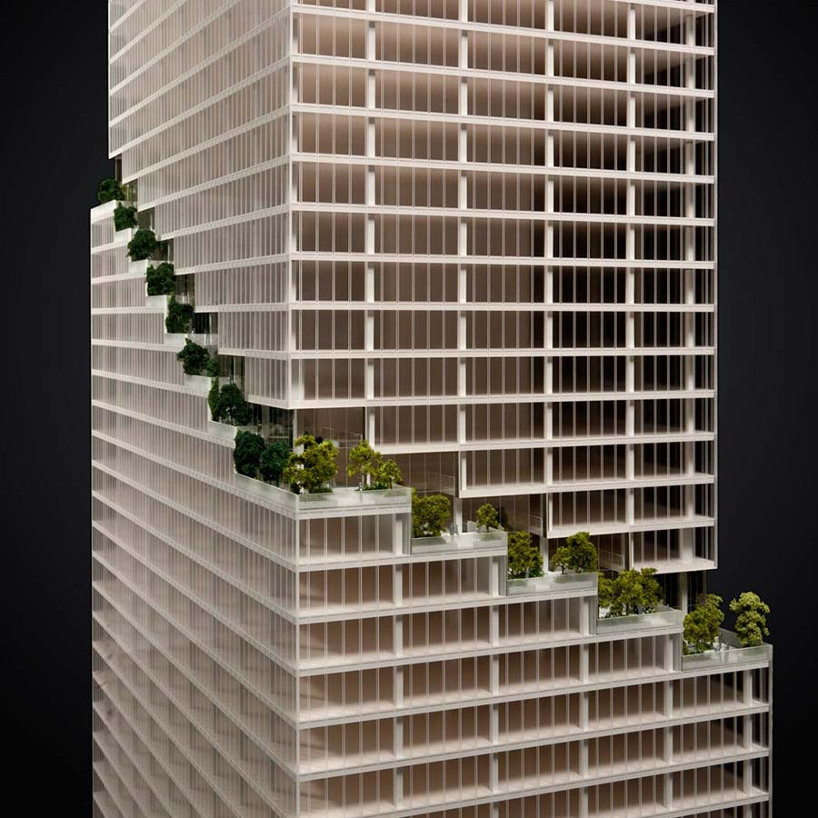 BIG (Bjarke Ingels Group)  66 Hudson Boulevard - The Spiral Tower