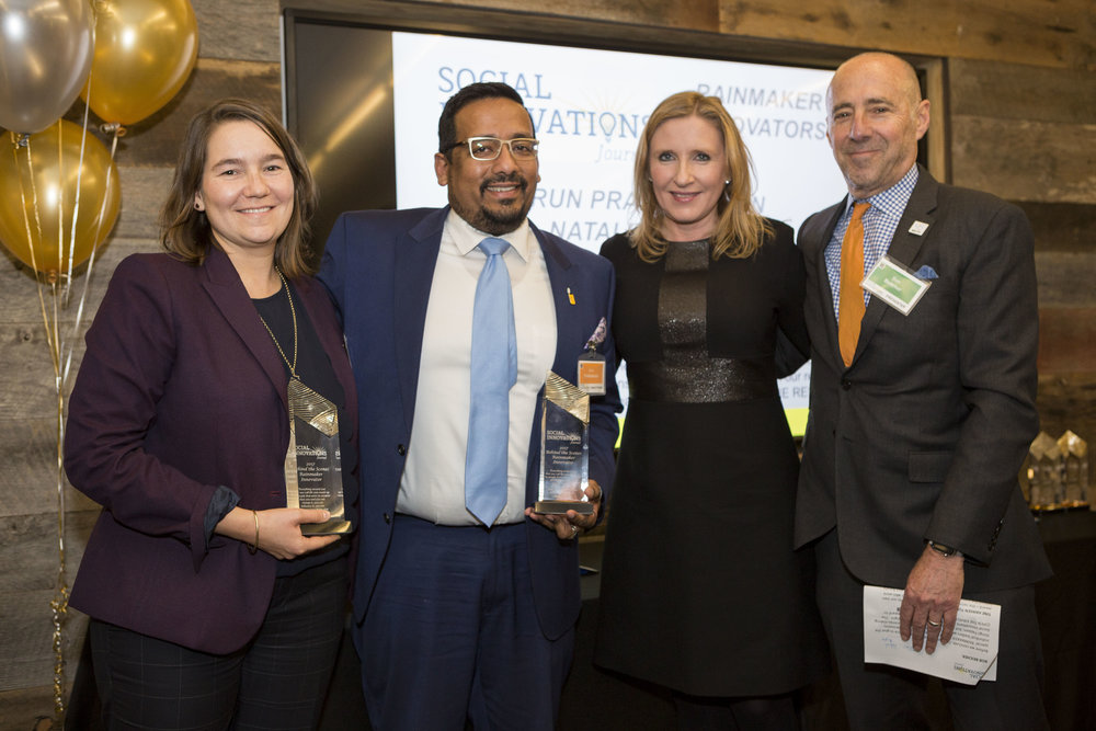 RAINMAKER INNOVATORS: NATALIE RENEW, PHMC AND ARUN PRABHAKARAN, UAC