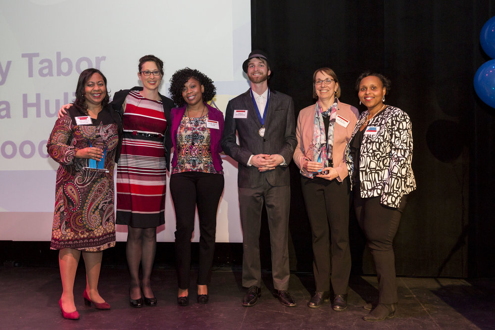 - HEALTHY COMMUNITIES1st: DR. TYRA BRYANT-STEPHENS, CHILDREN'S HOSPITAL OF PHILADELPHIA (CAPP & POLICYLAB)2nd: KATE CLARK, JEFFERSON3rd: MARIAN UHLMAN, HEALTHY NEWSWORKS4th - 6th: CASEY TABOR, PHILLY MICROGREENS; joi goodwin, Nurse care manager; & KIASHA HULING, SAYRE HEALTH CENTER