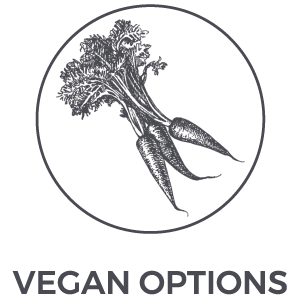 vegan options