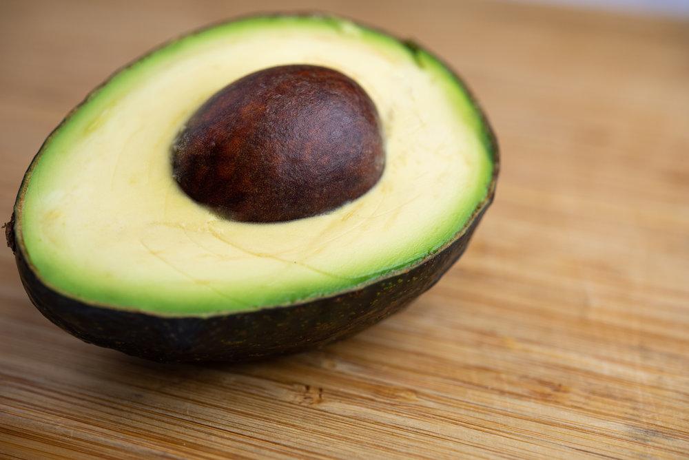 Half of an avocado
