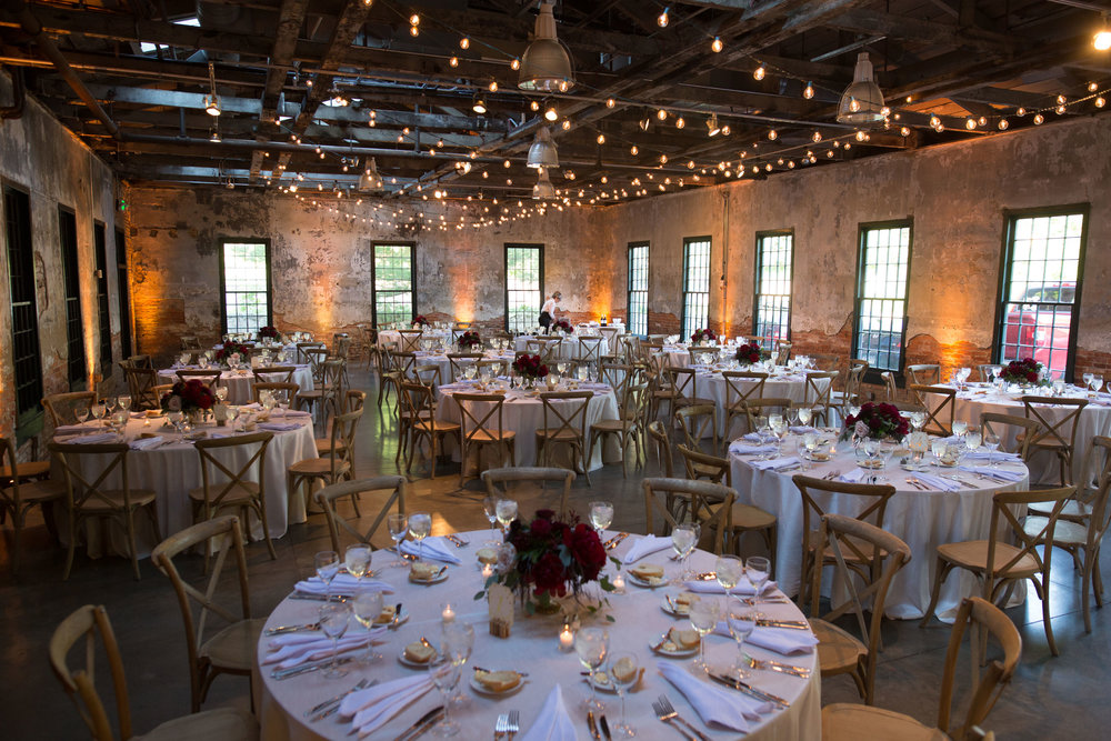 Before the reception at Mt. Washington Mill Dye House.