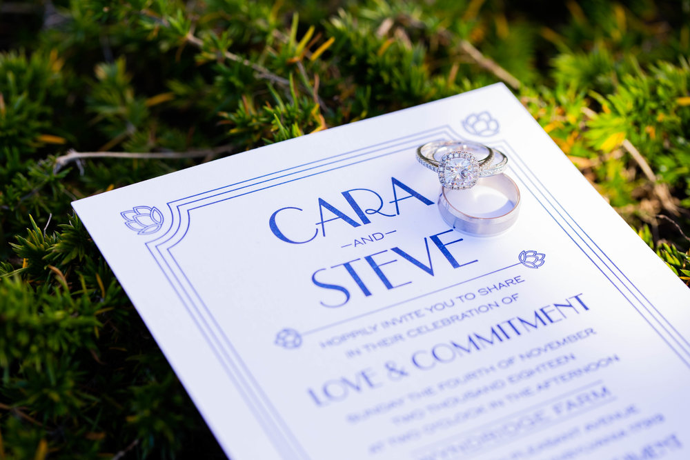 Cara & Steve Wedding Program