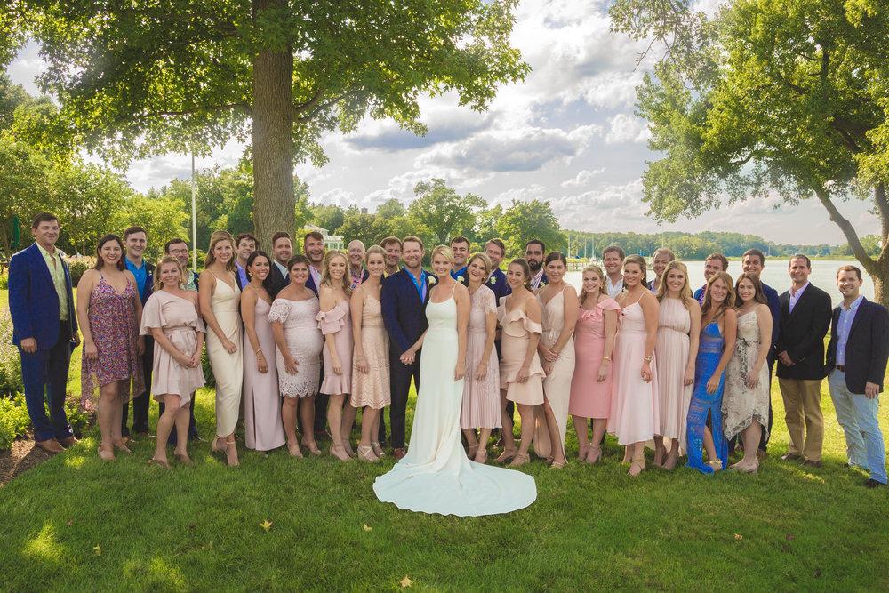 Bethy & Shawn wedding party