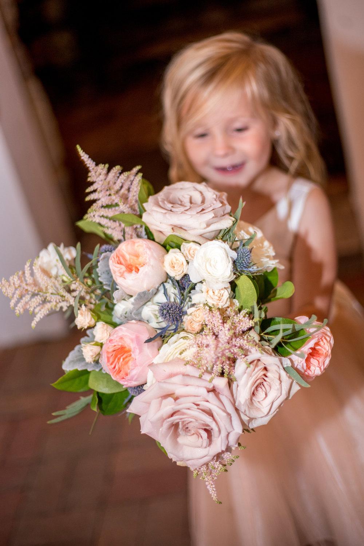 Sarah & Josh flower girl