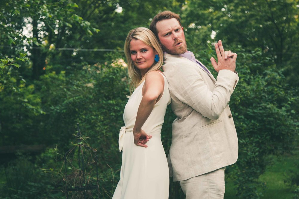 Bethy & Shawn engagement pose
