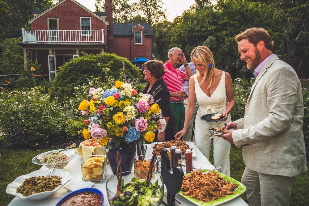 Bethy & Shawn engagement food