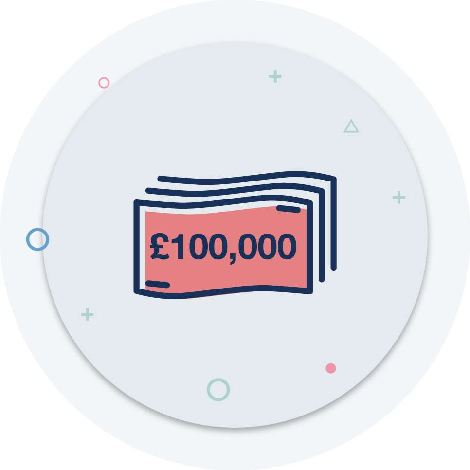 Up to £100,000 to defend you in HMRC investigations including TAX, VAT and PAYE -