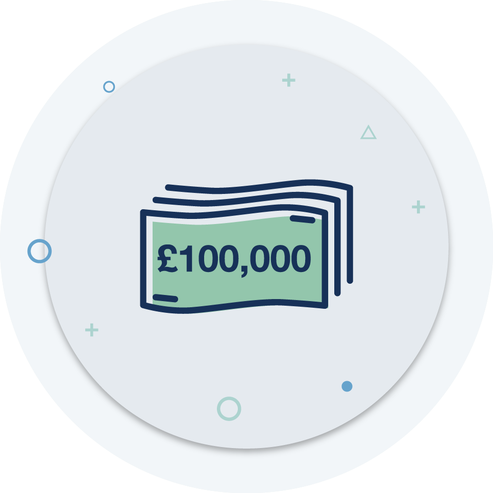 Up to £100,000 to protect you and your business in detrimental prosecutions and investigations -