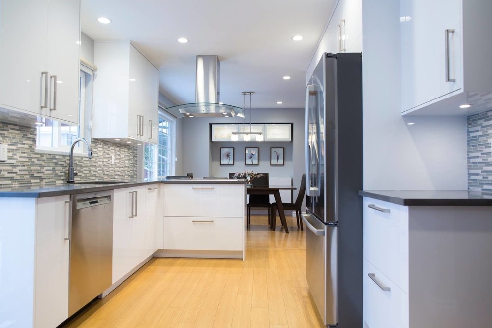 Ladner kitchen renovation