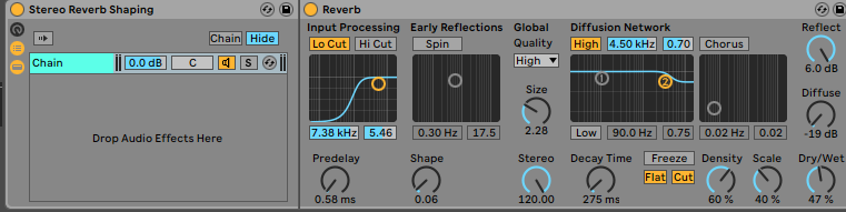 Reverb Shaping