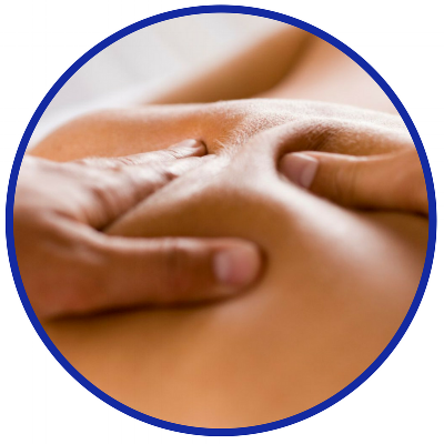 Deep Tissue Massage - A series of techniques used to improve circulation and mobility of deeper soft-tissues and fascial layers of the body.
