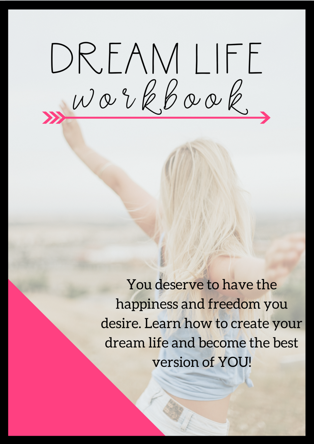 This workbook will help you design the live you really want. when you're clear on what you want, you can take inspired action to make it a reality.