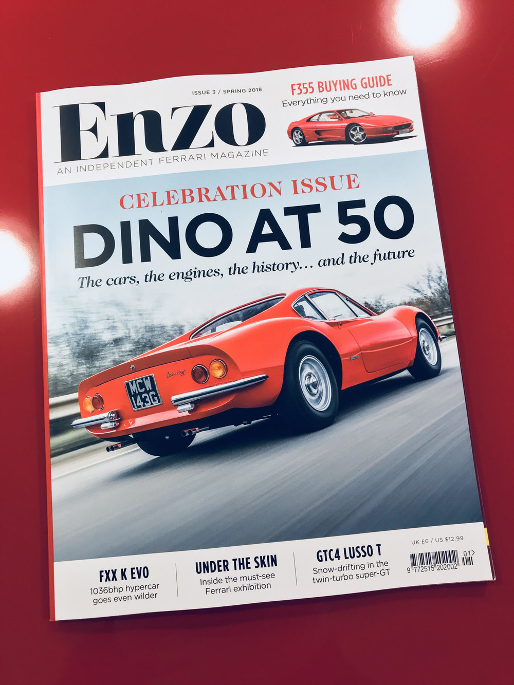 NEW ENZO MAGAZINE! - eNZO MAGAZINE ARTICLEGO CHECKOUT THE NEW SPRING EDITION OF ENZO MAGAZINE!iF YOU'D LIKE TO KNOW MORE ABOUT OUR HISTORY THEN THIS WILL PROVIDE YOU WITH A GREAT INSIGHT TO HOW WE OPERATE.YOU CAN SUBSCRIBE BY VISITING THEIR WEBSITEWWW.ENZO-MAGAZINE.CO.UK