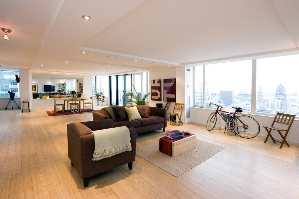 Living Area - Condo