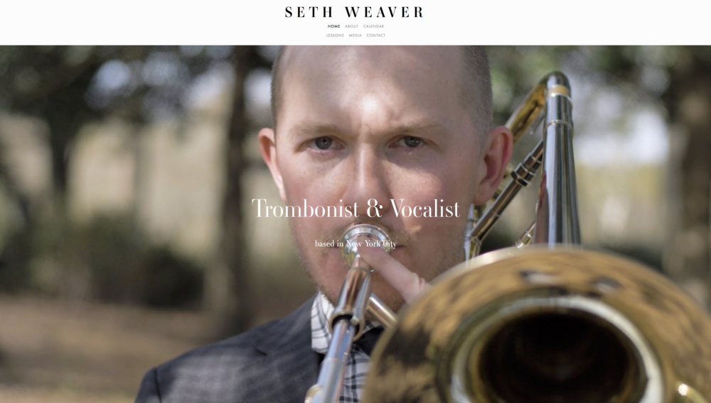Seth Weaver Website