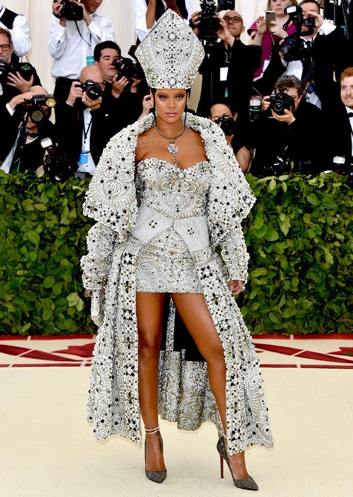 Rihanna *QUEEN OF THE MET*