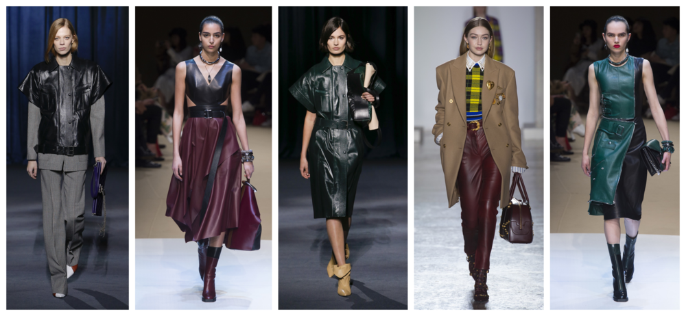 Leather Fall Trend 2018 2019