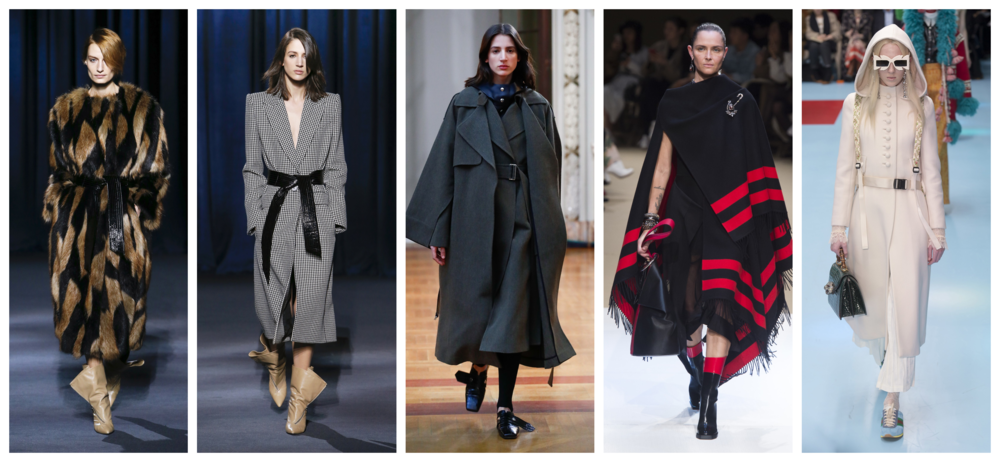 Blanket Coats Fall Fashion Trend 2018 2019