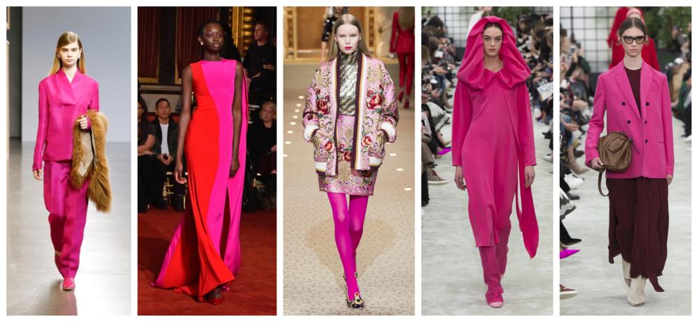 Hot Pink Fall Fashion 2018 2019