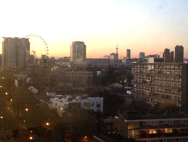 View of Elephant and Castle