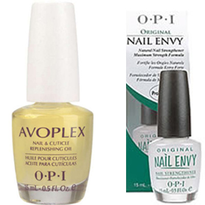 OPI Nail Envy and Avoplex