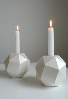 Polyhedrom candlesticks