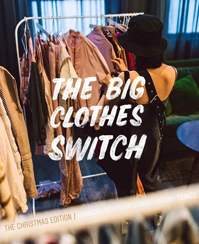 Ever heard of sustainable shopping? Check out The Big Clothes Switch today at Good Hotel London. A Clothes Switch is one of the most sustainable ways to update your wardrobe. A curated cash-less shopping experience with pre-loved and vintage clothing. Attendees shop the rails with the tokens they recieve upon handing in the items they bring to the Switch. Sounds like fun? Stop by the event today hosted by @storiesbehindthings at Good Hotel London, Royal Victoria Dock #GOODvibes