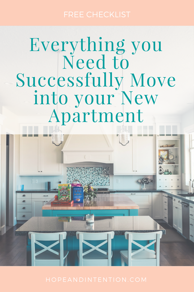 Everything You Need to Successfully Move into Your New Apartment ...