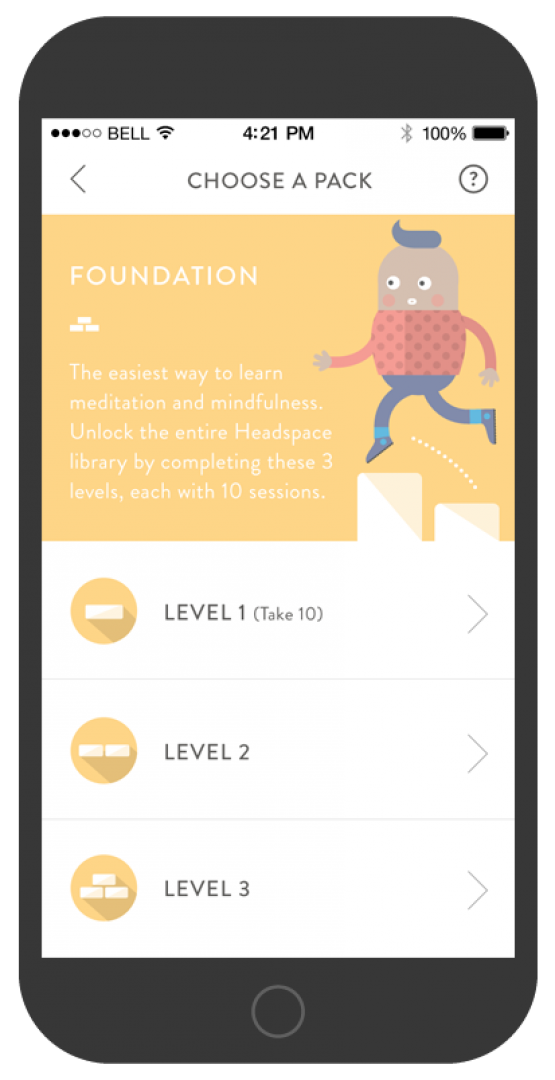 HEADSPACE MOBILE APP