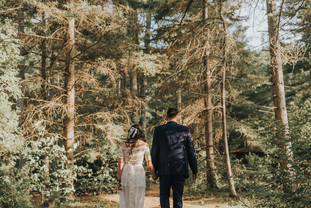 bride-groom-portraits-rustic-cabin-toronto-bohemian-boho-outdoor-summer-wedding-documentary-wedding-photography-by-willow-birch-photo.jpg