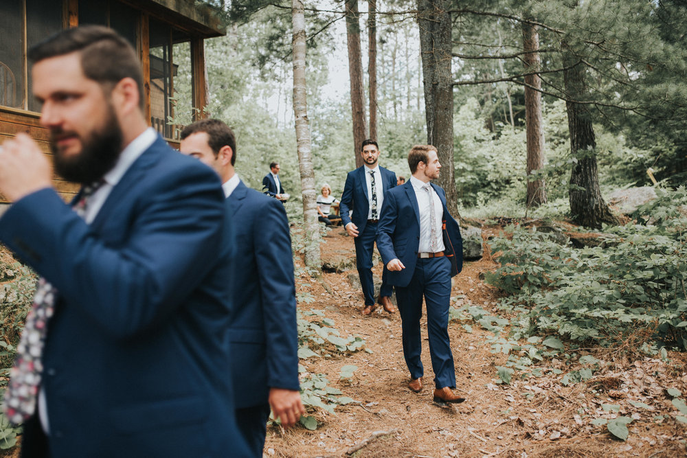groom-party-walking-to-wedding-toronto-bohemian-boho-outdoor-summer-wedding-documentary-wedding-photography-by-willow-birch-photo.jpg