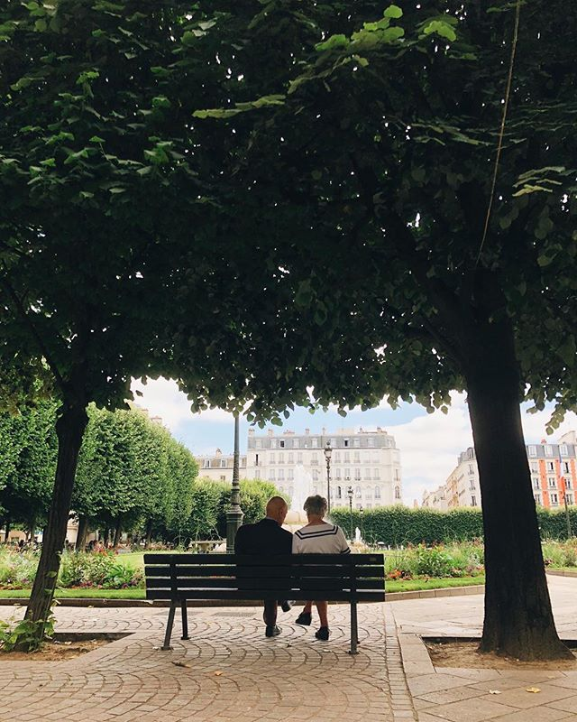 Oh Paris, already so charming. 😍