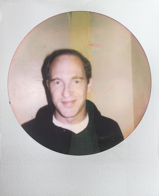 Caribou - Dan Snaith on impossible round frame. #daphni #caribou #caribouband #impossibleproject #polaroid #instantfilm #instant #nofilter #pitchfork